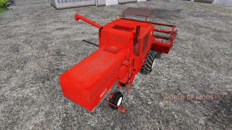 Bizon Z056 v1.0 for Farming Simulator 2015