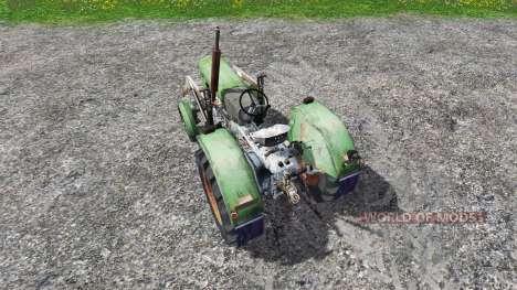Ursus C-4011 with front loader for Farming Simulator 2015
