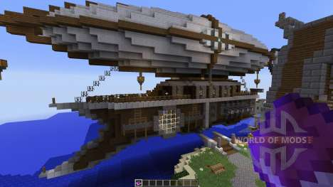 Steampunk Airship Of Thernop for Minecraft