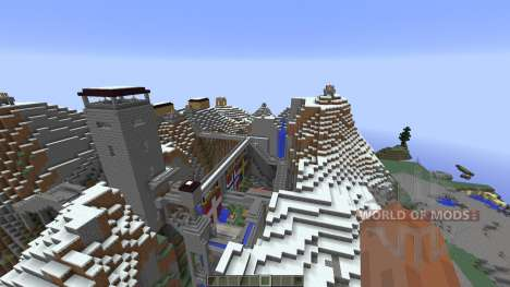 Nebelheim The mountain village for Minecraft