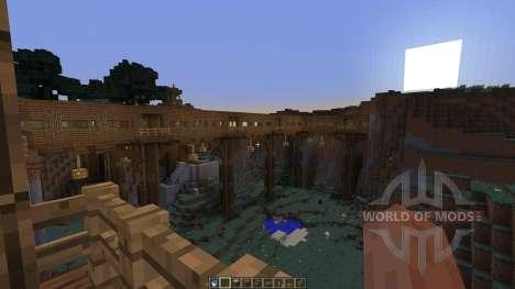 Dam Bridge Tunnel Experiments for Minecraft