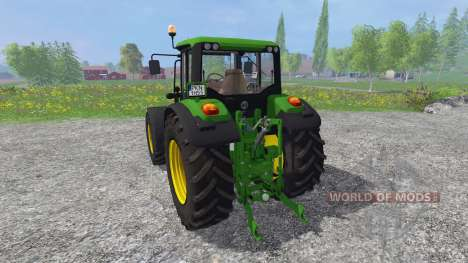 John Deere 6125M for Farming Simulator 2015