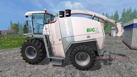 Krone Big X 1100 [30k] [retexture] for Farming Simulator 2015
