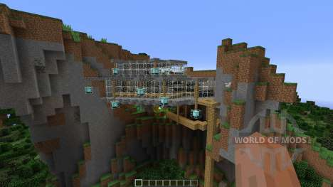 A MINIMILIST ROCK-CLIFF for Minecraft