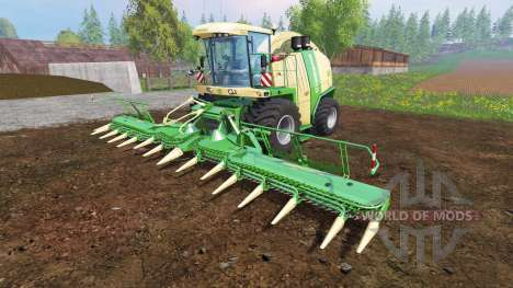 Krone Big X 1100 [tank 300000 liters] v1.2 for Farming Simulator 2015