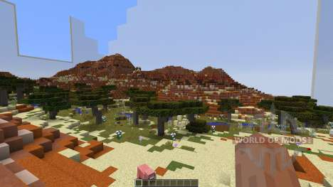 QCBC Dester river for Minecraft