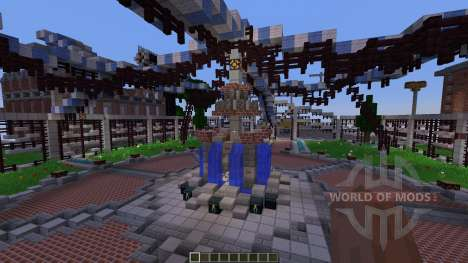 Shady Hollow Minecraft Survival Games Map for Minecraft