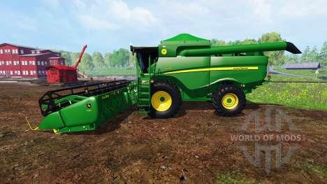 John Deere S550 for Farming Simulator 2015