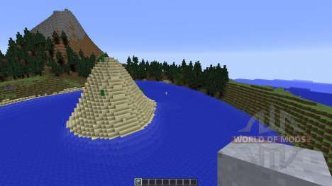 The Island of the Sunken Claw for Minecraft