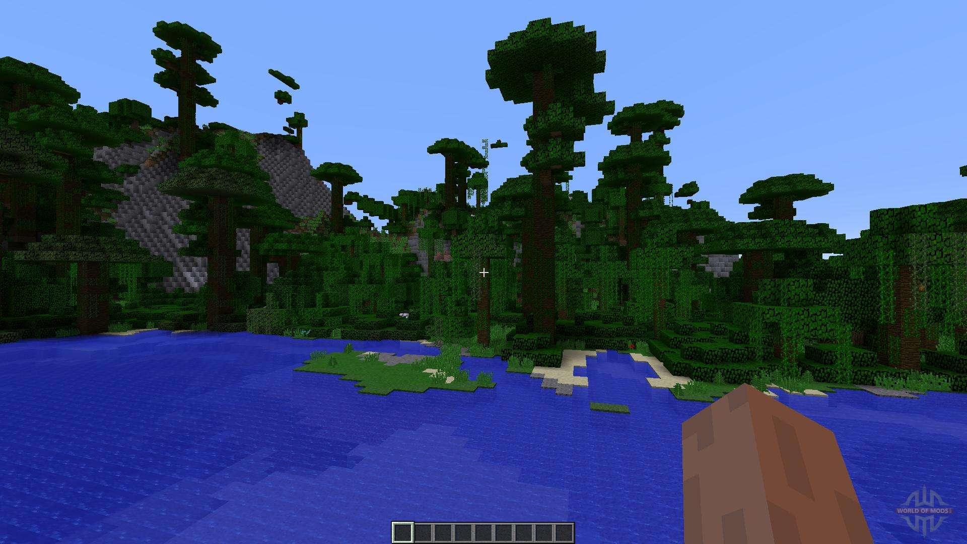 Paradise Island For Minecraft