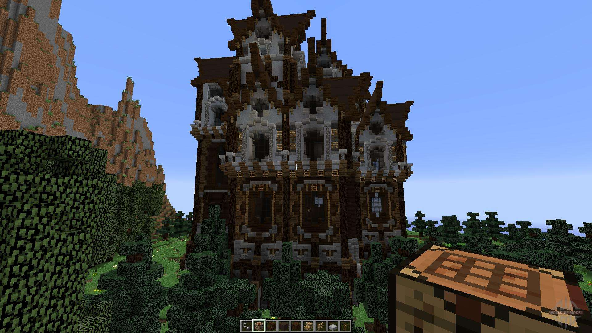 Slenders Mansions A Gothic Style Build For Minecraft