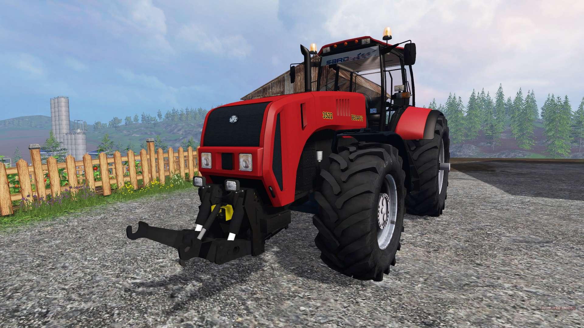 3522 Zebra Zetor Tractor Parts : Belarusian for farming simulator
