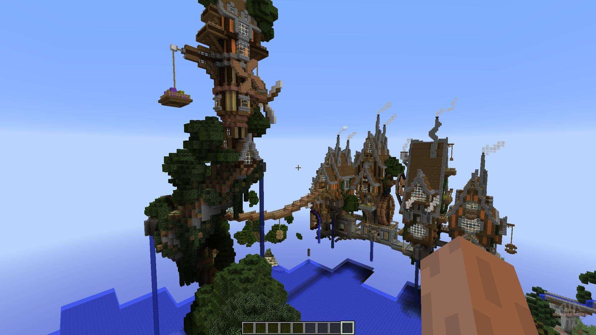 Minecraft Mods Download Steampunk Island Map   Sharikov