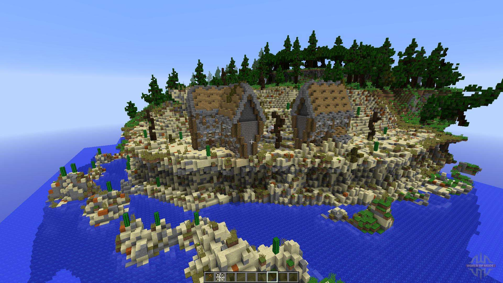 how to make a hunger games map in minecraft
