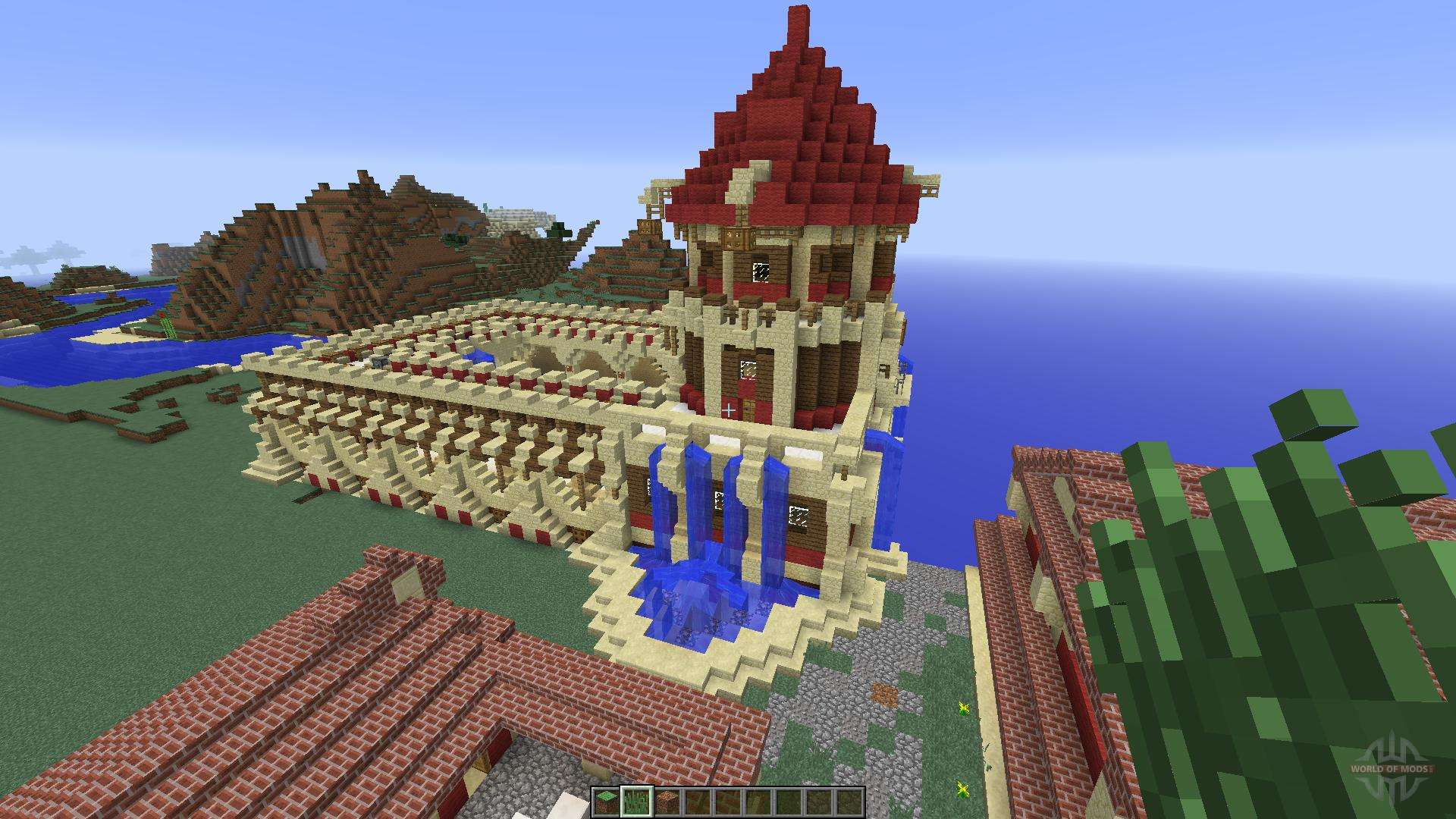 A Small Roman Domus For Minecraft