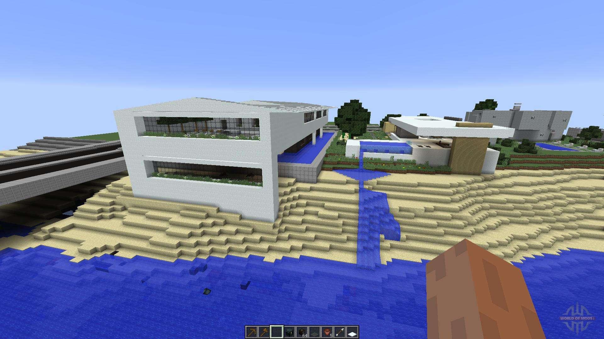 Eli minimalist house for minecraft for Minimalist house minecraft