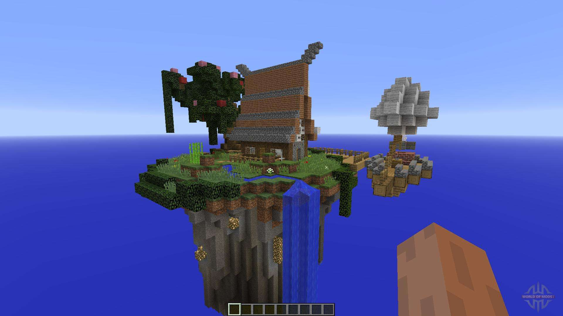 Sky Island Paradise For Minecraft