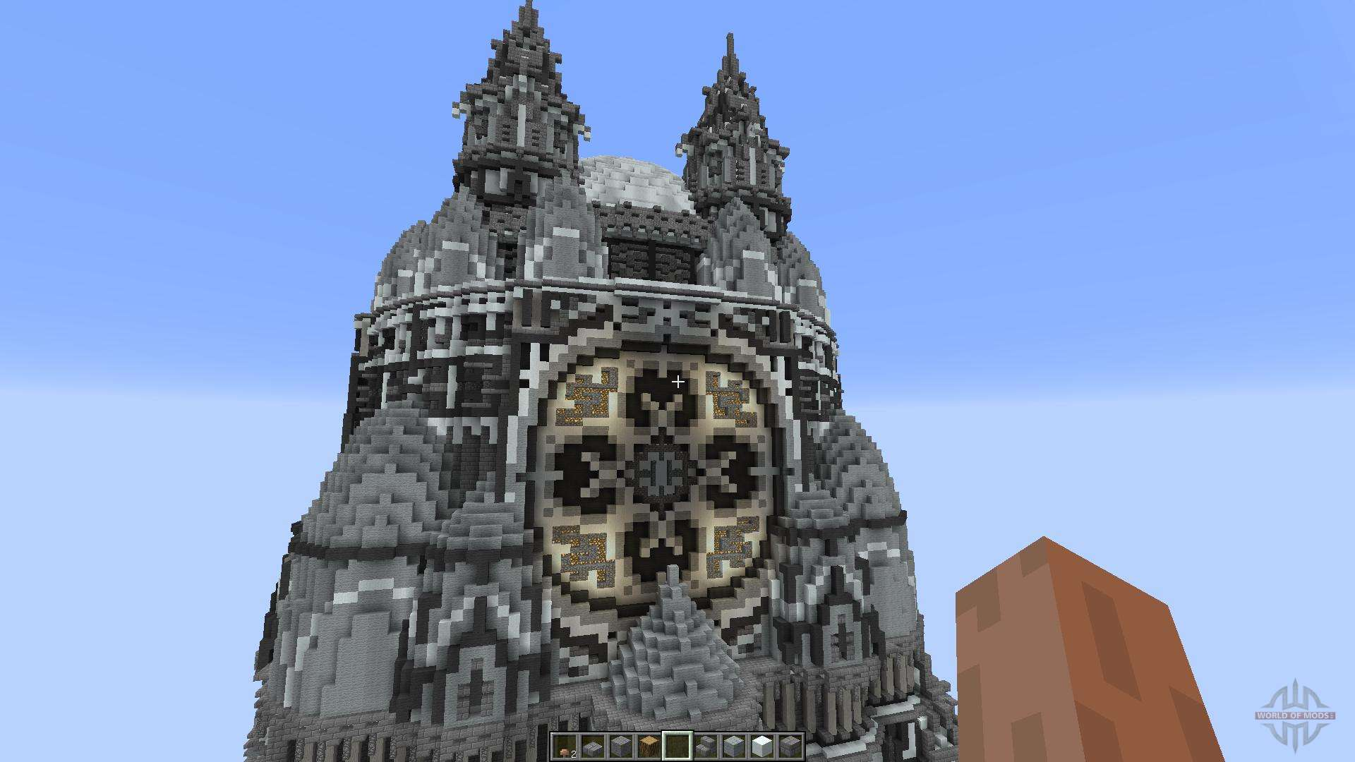 how to build a palace in minecraft