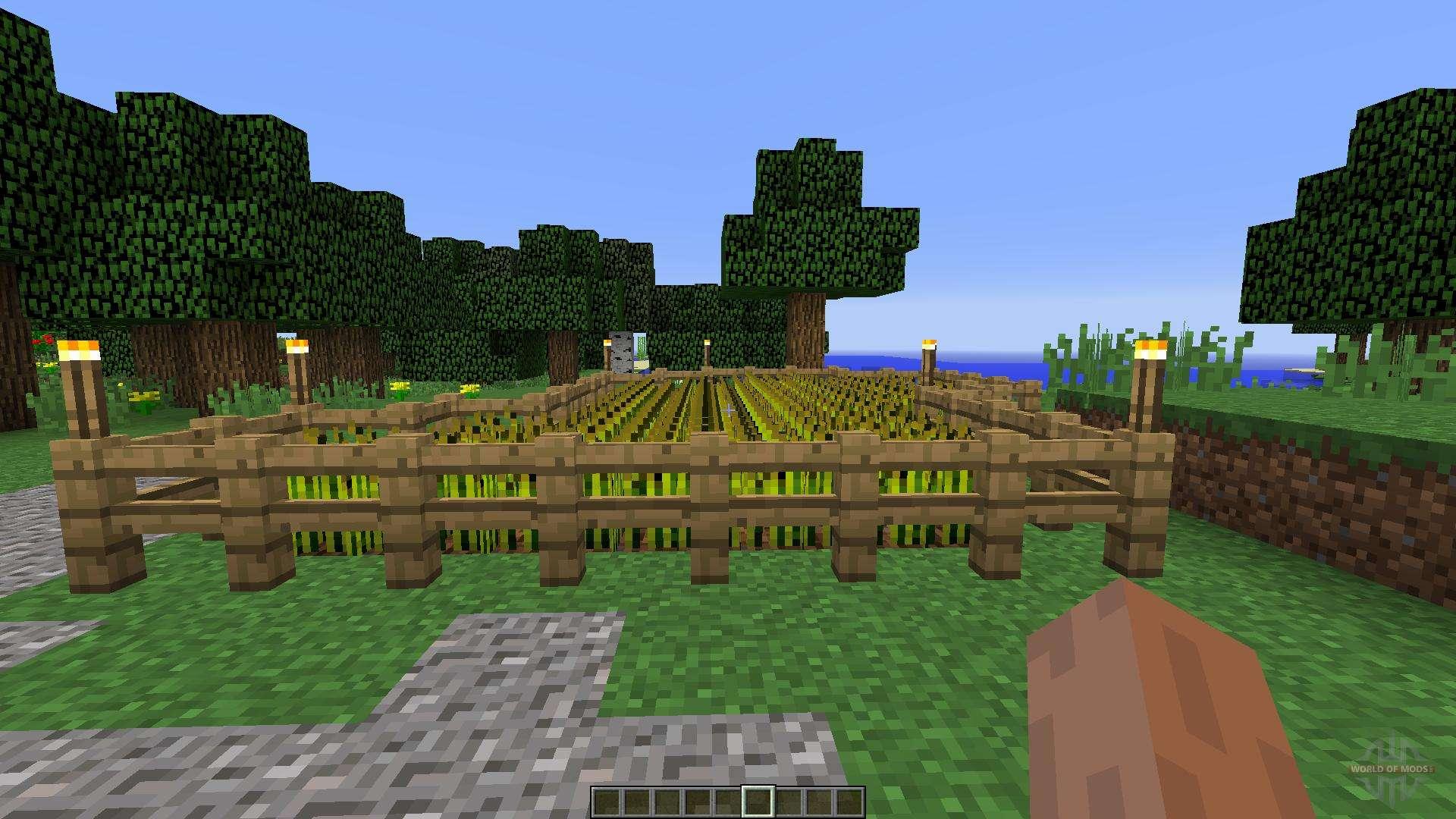 Medieval House Farm For Minecraft