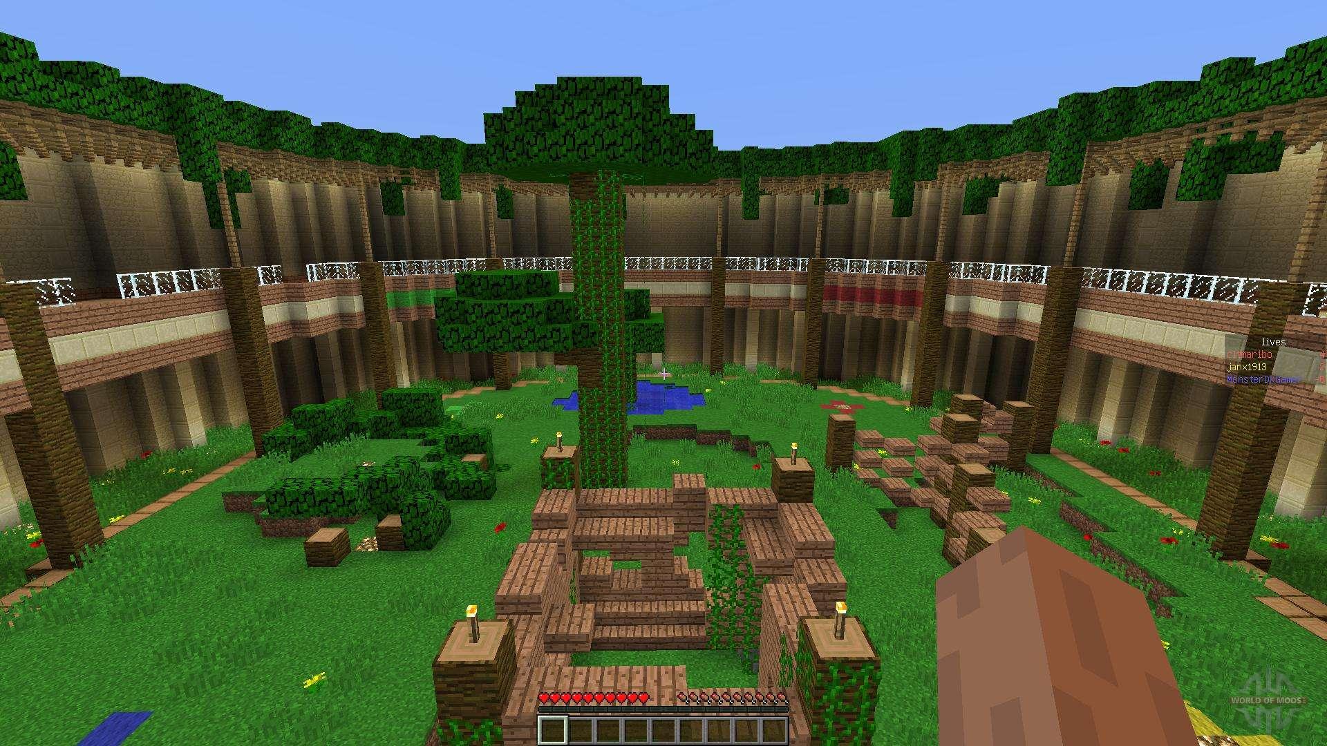 Minecraft: Gladiator Arena (Team Deathmatch) - PvP Map ...