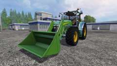 John Deere 7930 with front loader