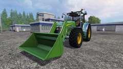 John Deere 7930 with front loader for Farming Simulator 2015