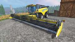 New Holland CR10.90 [front single wide wheels]