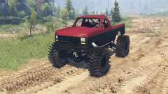 Ford F-350 1984 v1.1 for Spin Tires
