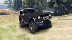 Ford Bronco 1966 [black] for Spin Tires