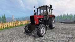 MTZ-82.1 Belarus red for Farming Simulator 2015