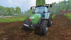 Hurlimann XM 4Ti [lime edition] for Farming Simulator 2015