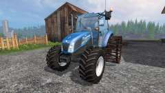 New Holland T4.75 v2.0 with steel wheels