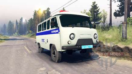UAZ-3909 PPP for Spin Tires