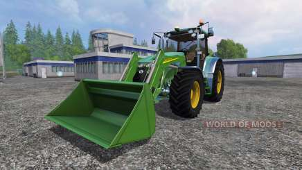 John Deere 7930 with front loader for Farming Simulator 2015