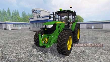 John Deere 6125M for Farming Simulator 2015