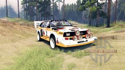 Audi Sport quattro S1 for Spin Tires