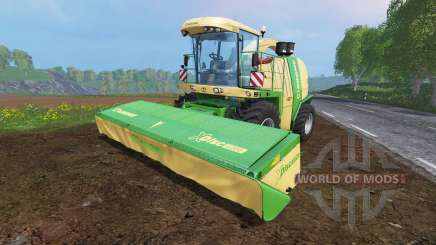 Krone Big X 1100 [inluding cutters] v1.1 for Farming Simulator 2015