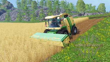 Krone Big X 1100 [128000 liters] for Farming Simulator 2015