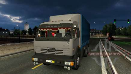 KamAZ 43118 with the wheel for Euro Truck Simulator 2