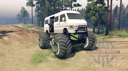 Minibus for Spin Tires