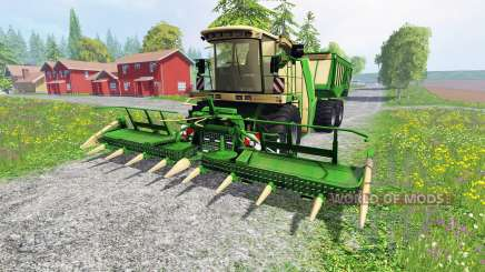 Krone Big X 650 Cargo v4.3 for Farming Simulator 2015