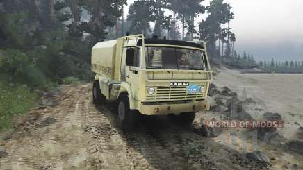 KamAZ 4911 Rally Extreme for Spin Tires