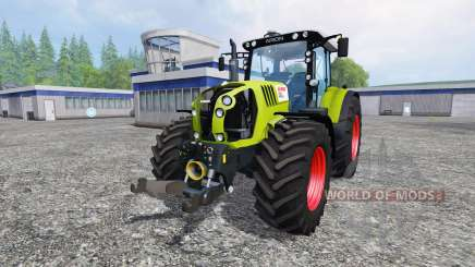 CLAAS Arion 650 v2.5 for Farming Simulator 2015
