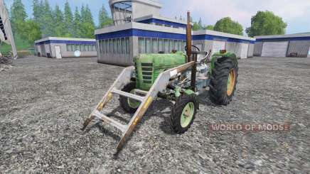Ursus C-4011 with front loader for Farming Simulator 2015
