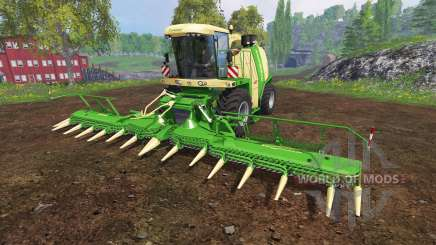 Krone Big X 1100 [beast] v12.0 for Farming Simulator 2015