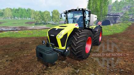 CLAAS Xerion 4500 v1.5 for Farming Simulator 2015