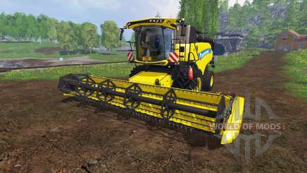 New Holland CR9.90 v1.1 [yellow edition] for Farming Simulator 2015