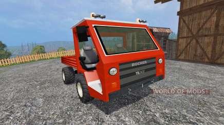 Bucher TR2400 for Farming Simulator 2015