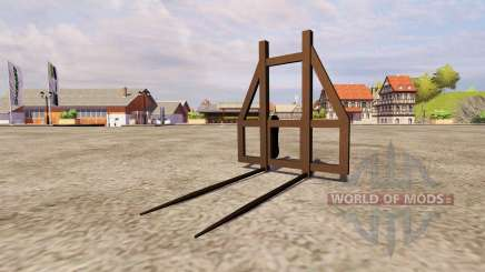 Fork bale v2.0 for Farming Simulator 2013