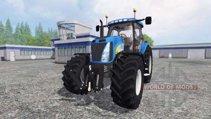 New Holland T8020 v4.5 for Farming Simulator 2015